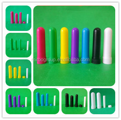 high quality aromatherapy inhalers, rainbow color blank nasal inhaler diffuser parts for filling essential oils with CE and ROHS