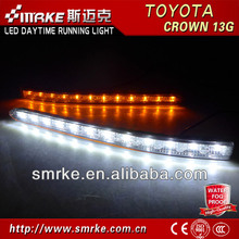 Hot Sale and good quality LED Daytime Running Light for toyota CROWN 13G LED DRL fog lamp