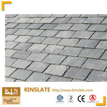 gray natural slate roof tile