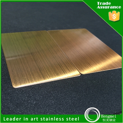 AISI 304 stainless steel sheet color hairline mirror surface
