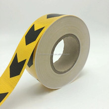 Road Arrow Printed reflective marking tape in PVC material