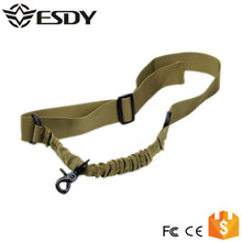 Tan Color Tactical Gear 1 Point Bungee Rifle Sling