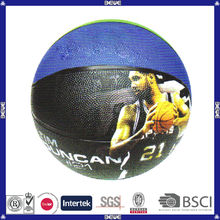 promotional customized logo OEM basketball with privilege price