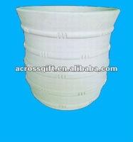 Hotsale white clay pots terracotta