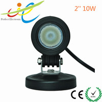 10w round shape LED Cree auto work light 4x4 offroad,motorcycle,tractor headlight