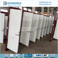 A15 Single Hinged Door With Emergency Exit & Vent Louver