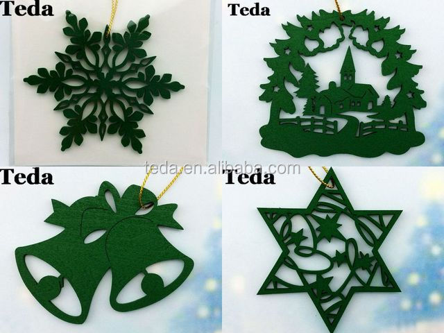Painted wooden ornaments wholesale (1)