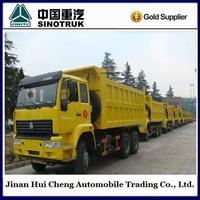 371hp 10 wheel dump truck 40ton mining sand tipper truck for sale