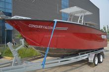 Hot sale marine aluminum boat for fishing