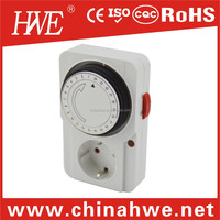 24 hours programmable analog switch timer controller plug 220V Energy Saving Electronic Timer Plug Switch Light On Off