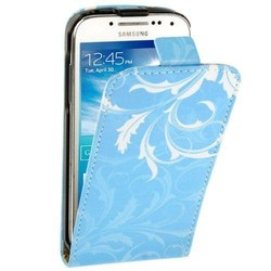 Hot sales Vertical Leather case for Samsung Galaxy S4 Mini case