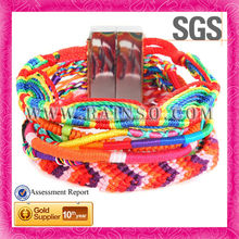Top Selling Multi-Colored Handmade Wrap Bracelet With Alloy Clasp For Premium Birthday Gift