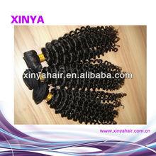 Best selling stock lots deep wave cheap Virgin brasilian hair weave