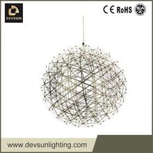 Réplica Moooi Raimond LED Modern aço inoxidável firework pingente DP14011-890
