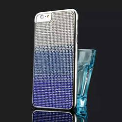 Diamond 2015 New design PC TPU moblile phone case, mobile phone back cover, with card slot phone holder