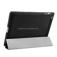 leather material high qulaity belt clip case for ipad mini
