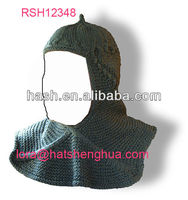 (RSH12348) 100% Acrylic Knitted Ski Mask, Face and Chest Warmer