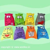 Promotional neck pillow / Beads filled pillow more popular than inflatable neck pillow
