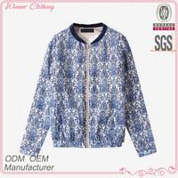 new modern elastic hem fashion jackets for women
