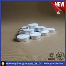Hight Quality 100% paraffin wax Tea light Candles manufacturer