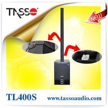 Sistema de altavoces de sonido de la columna de audio profesional