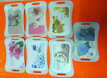 Various designs Melamine tray with handle, big size tray