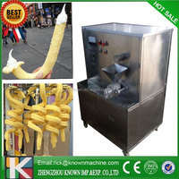hollow tube corn puffing snack making machine for filling ice cream /corn stick