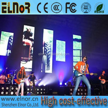 Rental installation P7.62 concert indoor stage multicolor led dislay screen