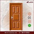 la seguridad de una puerta de madera puerta de entrada de la habitación interior