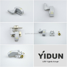 YIDUN 2015 new product kitchen cabinet wardrobe door hinge with led light