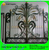 New Wrought Iron Front Gate Designs