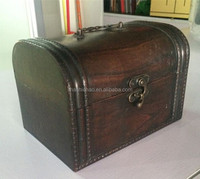Wooden Jewelry Box with Brass Work by shanghai manufacturer