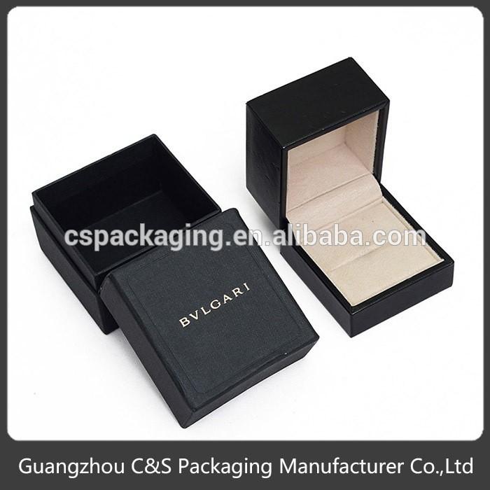 Wholesale Luxury Engagement Ring Box Flat Pack, Leather Ring Box ...