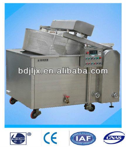 Freidora industrial con filtro de aceite sistema