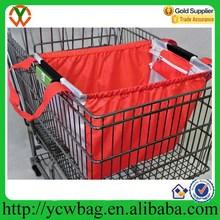 large capacity 210D supermarket shopping cart bag,trolley shopping bag