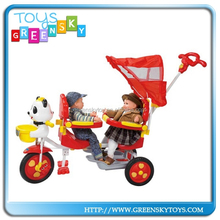2015 new cheap baby twins tricycle for sale