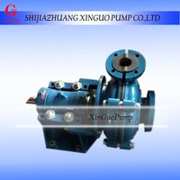 High Pressure and Single-stage Structure slurry pump mining