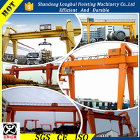 300ton China Supplier huge gantry crane used in ship building