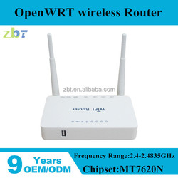 Dual fixed 5dBi antenna openWRT Wireless Router