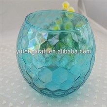clear glass candleholder for tealight