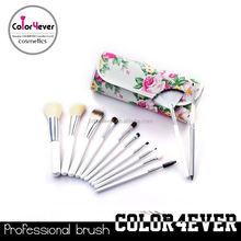 Makeup brushes professional 12pcs Rose case makeup brush sets OEM cosmetics now
