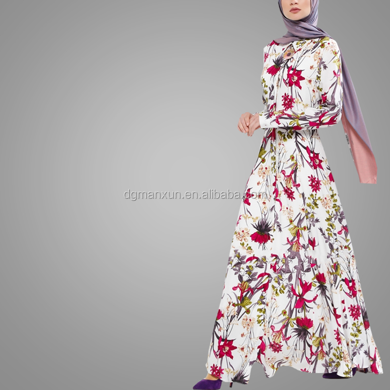 New Style Women Fashion Digital Printing Muslim Dress High Quality New Model Abaya In Dubai China Middle East Islamic Abaya (4).jpg