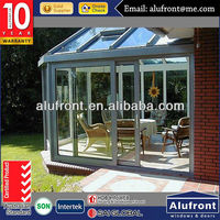 Hot Sale Aluminium Glass Room for Garden with AS Certificated
