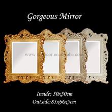 horizontal espelho da sala de jantar com decoração espelho em folha de ouro acabamento espelho decorativo parede