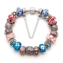 Fashion design charm handmade beaded bracelet jewellery