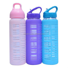 2015 bpa free glass water bottle,custom glass water bottle,bpa free gatorade water bottle