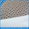 1412003-5356-3-2 Ningbo Bridge Free Sample Available Foiled Dot PU For Women's Shoes