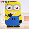 Minions carton series pattern silicone case for ipad