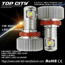 Play and plug 6500k 20W led marker car accessories dubai for BMW E82 E87 E8 Z4