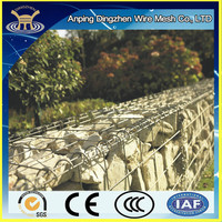 Garden gabion Used Welded Gabion box for landscapes and home yard decorative/ Gabionen